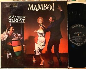 Xavier Cugat and His Orchestra MAMBO! LP Mercury 20108 First Pressing Mono 1957