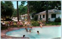 BILOXI, Mississippi   MS    Roadside  SEA GULL TOURIST COURT  c1950s    Postcard