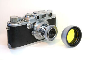 Lens hood / filter holder for collapsible Leica Elmar 50mm and others