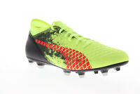Puma Future 18.4 FG AG 10434401 Mens Green Low Top Athletic Soccer Cleats Shoes