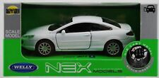 WELLY PEUGEOT 407 COUPE WHITE 1:34 DIE CAST METAL MODEL NEW IN BOX