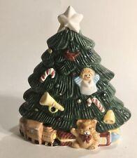 Vintage Christmas Tree Holiday Napkin Holder - C1