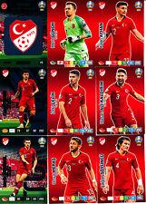 Panini Adrenalyn XL UEFA EURO 2020, Türkei (alle 18 Basis-Karten komplett)