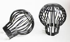 2 x Dachrinnen Fallrohr Schutz Sieb Filter Laub Laubschutz Laubfanggitter
