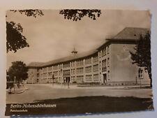 alte Foto  Ansichtskarte  Berlin Hohenschönhausen Pestalozzischule 1961