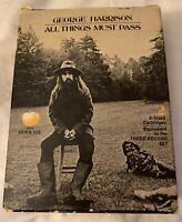 GEORGE HARRISON ALL THINGS MUST PASS 8 TRACK 2 TAPE SET IN ORIGINAL BOX APPLE