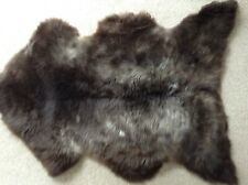 GENUINE SHEEPSKIN RUG (MIX OF GREYS AND BROWNS) - LARGE