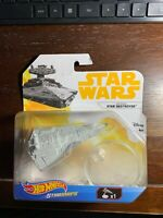 Hot Wheels Star Wars Die Cast Imperial Star Destroyer w/flight stand