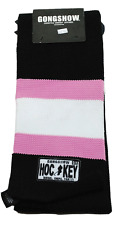 GONGSHOW BREAST CANCER AWARENESS HOCKEY LIFESTYLE APPAREL KNIT SCARF -  BLACK