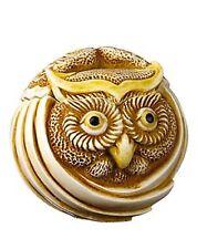 Mostel the Owl #Tjrpow Harmony Kingdom Roly Polys Artist Adam Binder
