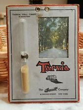 Vintage 1920s Tarvia Barrett Tar Asphalt Toll Timer 3 Minute Egg New York City