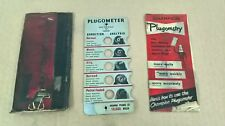vintage Champion Plugometer classic car accesory spark plug checking tool