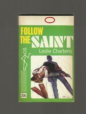 Follow the Saint by Leslie Charteris (Hodder Paperback 1966)