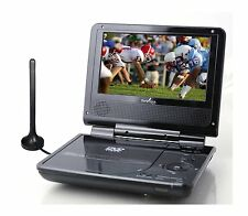 "NEW Envizen Digital ED8850B Duo Box II 7"" Portable DVD & TV Player with ATSC TV"