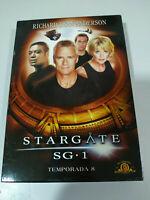 STARGATE SG 1 Octava Temporada 8 Serie TV 6 X DVD + Extras ESPAÑOL ENGLISH