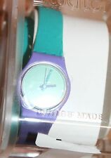 swatch watch women's two colors wrap plastic new