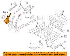FORD OEM 05-14 Mustang-Inner Hinge Pillar Left 5R3Z6302039BA