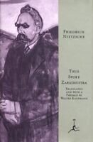 Thus Spoke Zarathustra: A Book for All and None (Modern Library) by Nietzsche,