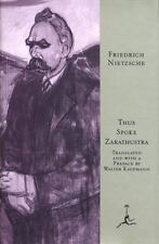 Modern Library: Thus Spoke Zarathustra by Friedrich Nietzsche (1995, Hardcover)