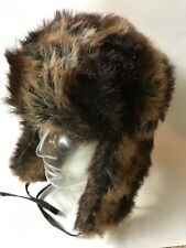 STETSON NWT Faux fur bomber hat $60 retail