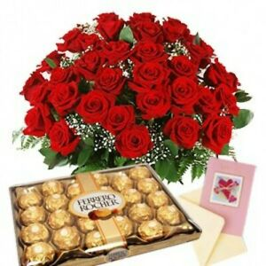 Ferrero Rocher Chocolate Gift Box Hamper Birthday Lindt Personalised Sweet Candy