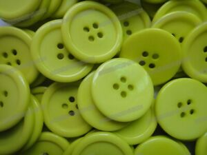 """25mm 1"""" 30pcs 4-Holes Round Resin Sewing Clothes Buttons Diy Craft Sell Off"""