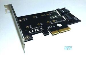 M.2 NGFF PCIe SSD M Key+B key PCIe x4 Adapter *Apple Mac Pro 3,1-5,1 *SM951 M6E