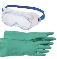 Safety Gloves & Goggles kit to EN166/374/388