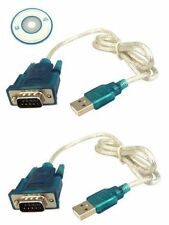 USB to RS232 Serial 9Pin RS-232 DB9 COM Port Convertor Cable Adapter 4 PDA GPS
