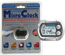 OXFORD Waterproof Digital Micro Clock Temp gauge with freeze warning OF219