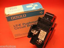 NEW P215 PUSHMATIC 15A ITE Bulldog 2 Pole BREAKER 15 Amp