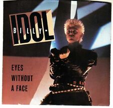 BILLY IDOL: EYES WITHOUT A FACE / BLUE HIGHWAY 45 RPM STEVE STEVENS GENERATION X