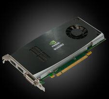 Nvidia Quadro FX 1800 | DVI + 2x DP | 768 MB GDDR3 | 64 CUDA-Cores | 38.4 GB/s