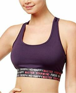 Energie Active Juniors' Olivia Graphic Sports Bra (Purple, Large)
