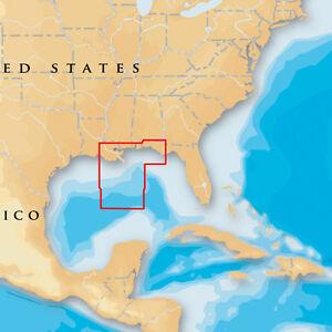 Navionics Platinum+ - Gulf of Mexico Central - microSD/SD