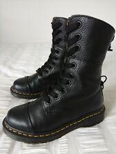 Dr Martens 'Aimilta' Ladies Black Leather Boots, Size UK4, EU37