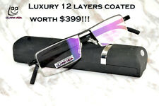 Luxury 2018 trend top quality 12 layers coated computer reading glasses +1 to +4