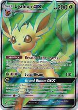 Leafeon GX 139/156 F/A S & M Ultra Prism ULTRA RARE HOLO PER / MINT! Pokemon