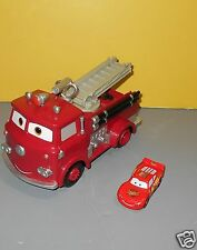 Disney Pixar Cars R/C Red Fire Engine Radio Control Fire Fighter Truck For Parts