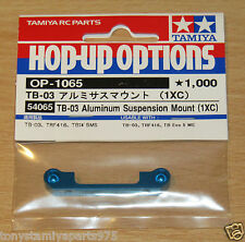 TAMIYA 54065 TB-03 Aluminium Suspension Mount (1XC) (TB03/TRF416/TB EVO 5), Neuf sous emballage
