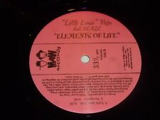 "LITTLE LOUIE VEGA feat BLAZE - Elements Of Life  - 2000 USA 4-track 12"" Single"