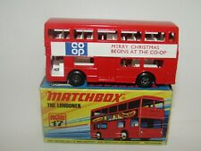 Matchbox Superfast No 17 The Londoner CO-OP Merry Christmas CODE 3 VNMIB