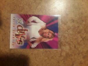 2001 Fleer WWF Wrestle Mania Divas Trish Stratus Card Number 68