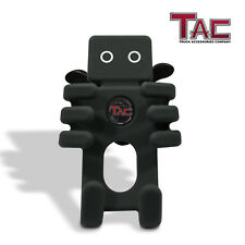 "TAC Car Cell Phone Silicon Holder Cradle Mount BLK Fit 5""-7"" Smartphones & GPS"