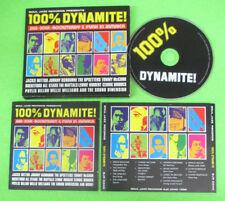 CD Compilation 100%Dynamite!(Ska-Soul-Rocksteady & Funk In Jamaica)no lp mc(C42)