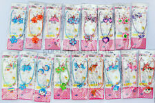 FREE Retail 5set Mixed FIMO Polymer Clay chain Children necklace+earrin​​​g