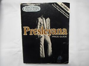"1ST EDITION ""Presleyana"", Elvis Presley Price Guide from Osborne & Hamilton"