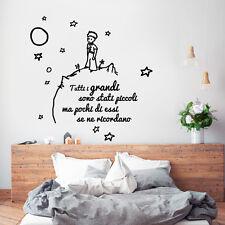 01424 Wall Stickers Adesivi Murali parete Aforisma Tutti i grandi 84x91 cm