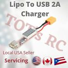 2S-6S Lipo Deans or XT60 to USB 5V 2A Charger Converter for Phone Tablet Speaker