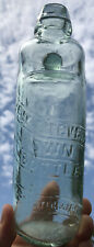 Scarce Letters Patent Diamond Reg Codd Bottle - Stevens Colchester c1890's